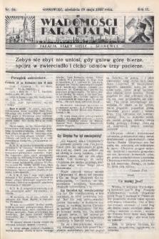 """Wiadomości Parafjalne : dodatek do tygodników """"Niedziela"""" i""""Przewodnika Katolickiego"""". 1935, nr20"""