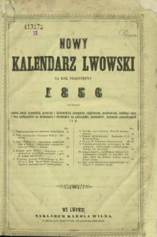 Nowy Kalendarz Lwowski na Rok Przestępny 1856