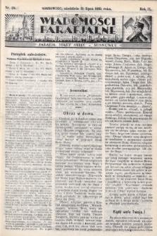 """Wiadomości Parafjalne : dodatek do tygodników """"Niedziela"""" i""""Przewodnika Katolickiego"""". 1935, nr29"""
