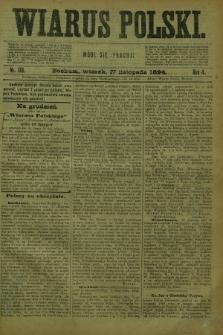 Wiarus Polski. R.4, nr 138 (27 listopada 1894)