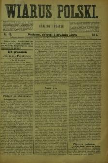Wiarus Polski. R.4, nr 140 (1 grudnia 1894) + dod.