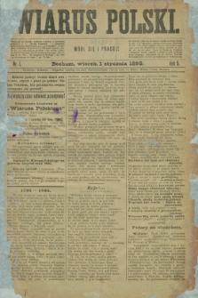 Wiarus Polski. R.5, nr 1 (1 stycznia 1895)