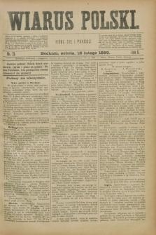 Wiarus Polski. R.5, nr 21 (16 lutego 1895)