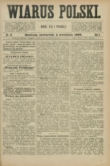 Wiarus Polski. R.5, nr 41 (4 kwietnia 1895)