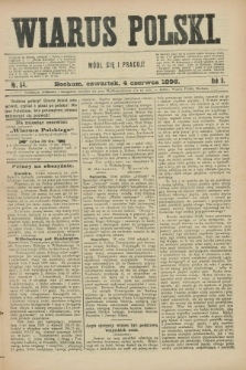 Wiarus Polski. R.6, nr 64 (4 czerwca 1896)