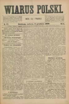 Wiarus Polski. R.6, nr 143 (5 grudnia 1896) + dod.