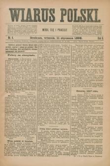 Wiarus Polski. R.8, nr 4 (11 stycznia 1898)