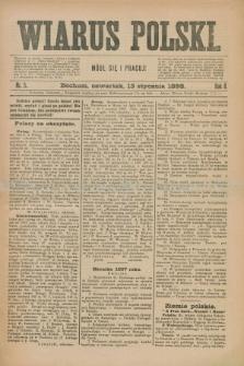 Wiarus Polski. R.8, nr 5 (13 stycznia 1898)