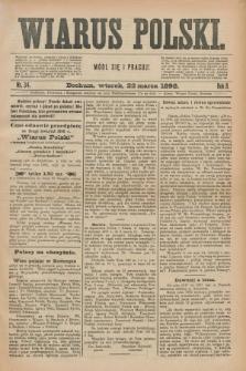 Wiarus Polski. R.8, nr 34 (22 marca 1898)