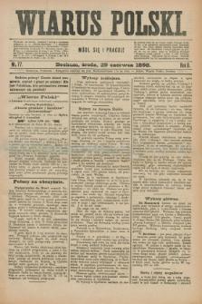 Wiarus Polski. R.8, nr 77 (29 czerwca 1898) + dod.