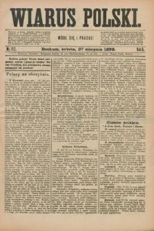 Wiarus Polski. R.8, nr 102 (27 sierpnia 1898)