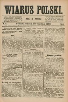 Wiarus Polski. R.8, nr 112 (20 września 1898)