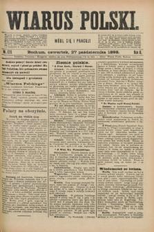 Wiarus Polski. R.8, nr 128 (27 października 1898) + dod.