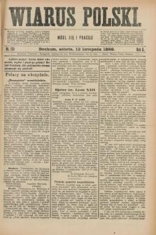 Wiarus Polski. R.8, nr 135 (12 listopada 1898) + dod.