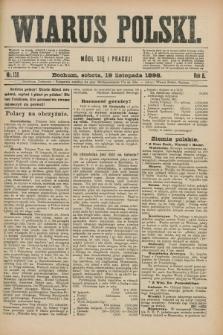 Wiarus Polski. R.8, nr 138 (19 listopada 1898)