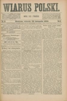 Wiarus Polski. R.8, nr 139 (22 listopada 1898)