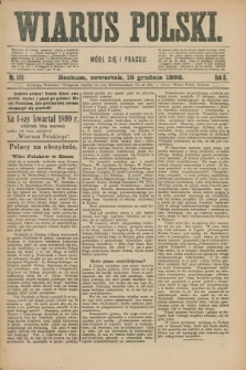 Wiarus Polski. R.8, nr 149 (15 grudnia 1898)