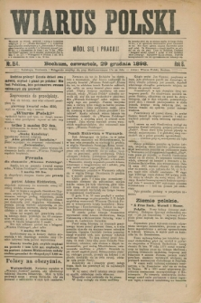 Wiarus Polski. R.8, nr 154 (29 grudnia 1898)