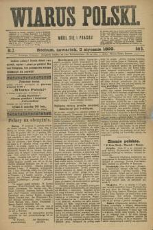 Wiarus Polski. R.9, nr 2 (5 stycznia 1899)