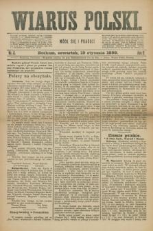 Wiarus Polski. R.9, nr 8 (19 stycznia 1899)
