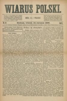 Wiarus Polski. R.9, nr 10 (24 stycznia 1899)