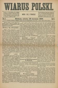 Wiarus Polski. R.9, nr 12 (28 stycznia 1899)