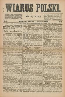 Wiarus Polski. R.9, nr 16 (7 lutego 1899)