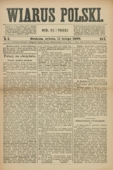 Wiarus Polski. R.9, nr 18 (11 lutego 1899) + dod.