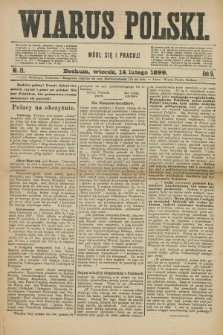 Wiarus Polski. R.9, nr 19 (14 lutego 1899)