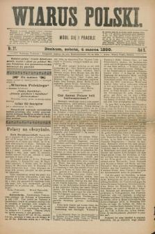 Wiarus Polski. R.9, nr 27 (4 marca 1899) + dod.