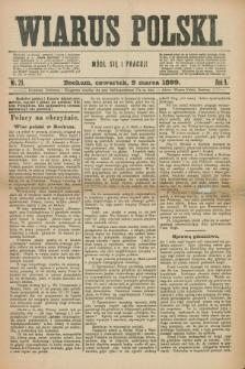 Wiarus Polski. R.9, nr 29 (9 marca 1899)
