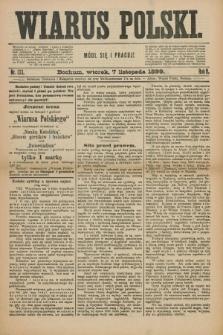 Wiarus Polski. R.9, nr 133 (7 listopada 1899)