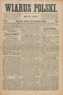 Wiarus Polski. R.9, nr 138 (18 listopada 1899)