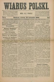 Wiarus Polski. R.9, nr 141 (25 listopada 1899)