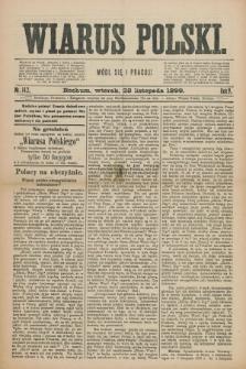 Wiarus Polski. R.9, nr 142 (28 listopada 1899)