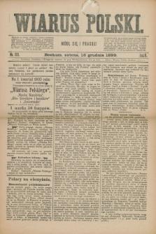 Wiarus Polski. R.9, nr 150 (16 grudnia 1899) + dod.