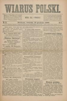 Wiarus Polski. R.9, nr 151 (19 grudnia 1899) + dod.