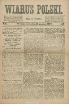 Wiarus Polski. R.9, nr 152 (21 grudnia 1899) + dod.