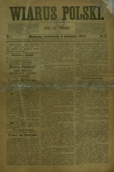 Wiarus Polski. R.10, nr 1 (4 stycznia 1900)