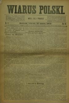 Wiarus Polski. R.10, nr 33 (20 marca 1900) + dod.