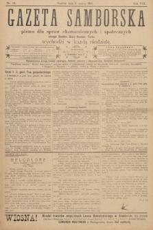 Gazeta Samborska : pismo poświęcone sprawom ekonomicznym i społecznym okręgu: Sambor, Stary Sambor, Turka. 1908, nr10
