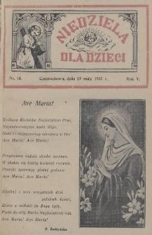 Niedziela dla Dzieci. 1935, nr10