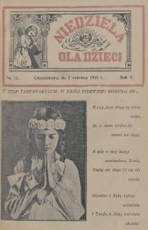 Niedziela dla Dzieci. 1935, nr11