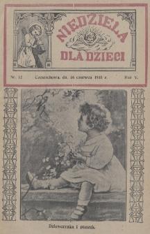 Niedziela dla Dzieci. 1935, nr12