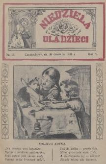 Niedziela dla Dzieci. 1935, nr13