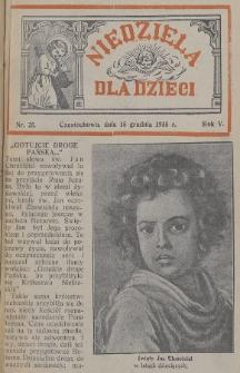 Niedziela dla Dzieci. 1935, nr25