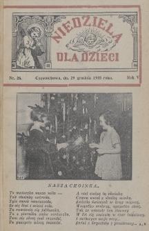 Niedziela dla Dzieci. 1935, nr26