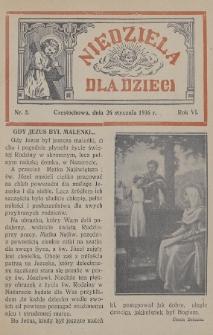 Niedziela dla Dzieci. 1936, nr2