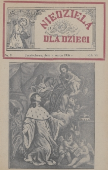 Niedziela dla Dzieci. 1936, nr5