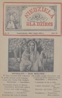 Niedziela dla Dzieci. 1936, nr9